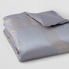 Hudson Park Concerto FULL/QUEEN Duvet Cover Jacquard Bedding Retail $355 B496