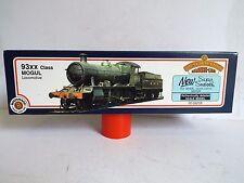 BACHMANN OO 31-803 93XX CLASS MOGUL B.R. GREEN 7332 NEW BOXED (OO394)