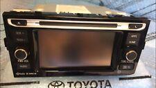 18 19 Toyota Prius C Navigation XM CD Radio 100872 OEM