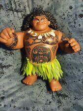 "Jakks Disney Moana Mega Maui 16"" Talking Doll Large Figure with phrases and song"