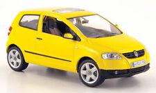 wonderful diecast-PR-modelcar VW FOX 2005 - yellow - scale 1/43