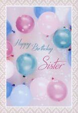 Happy Birthday Sister - Birthday Greeting Card - 00968