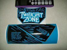 3 Piece Twilight Zone Replacement Bally Williams Pinball Apron Decals Set NEW