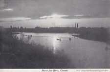 Carte postale ancienne CANADA moose jaw river stamped 1911