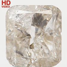 Natural Loose Diamond Cushion I2 Clarity I Color 4.25X3.85X2.25 MM 0.34 Ct N6391