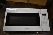 "Samsung Me18H704Sfw 30"" White Over-The-Range Microwave Nob #50498 Hrt"