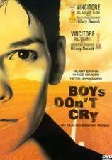 BOYS DON'T CRY CON HILARY SWANK (DVD) NUOVO, ITALIANO, ORIGINALE