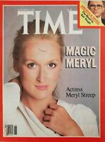 Time Magazine September 7 1981 - Meryl Streep - America & Israel - No Label EX