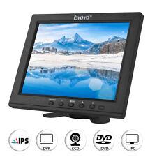 "Portable Mini size 8"" IPS LCD CCTV Monitor Display Screen HDMI VGA AV BNC Input"