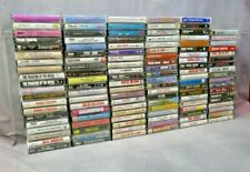 100 Cassette Tapes: [ Lot ]: All playable! Many genres !