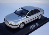 Minichamps 1/43 Volvo S 80 silber-metallic in Plexi-Box #7725