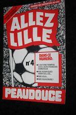 ALLEZ LILLE N°4 PROGRAMME )) LOSC V GIRONDINS BORDEAUX )) saison 1980/1981