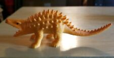 Spiny orange Prehistoric Dinosaur toy figure Realistic color detail Collectible