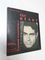 ROBERT BEAUVAIS - GUY BEART - CHANSONS D'AUJOURD'HUI - 1969 - SEGHERS