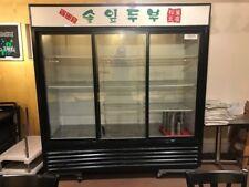 used Three Door Glass Refrigerator /True - Gdm-69. pick-up. Los Angeles, Ca