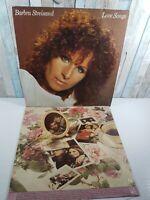 Barbara Streisand - Love Songs. Vinyl LP 1981. CBS records , CBS-10031 VG-EX