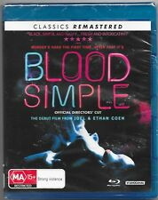Blood Simple (Blu-ray, 2018)New Remastered(A Coen Brothers Film) Reg/B Free Post