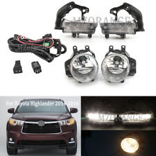 For Toyota Highlander 2014-2016 LED Daytime Running Light + Fog Lamp Wiring Kits
