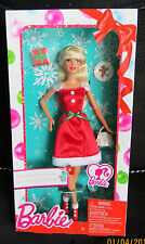 NRFB poupée doll BARBIE 2014 collection festive NOEL CHRISTMAS Collector CLW89