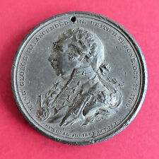 1809 KING GEORGE III NATIONAL JUBILEE 52mm MEDAL - by p wyon