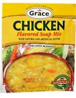 Country Style Chicken Soup mix by Grace. 2.12 oz / 4 Servings Per Pkg