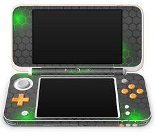 Nintendo NEW 2DS XL Aufkleber Skin Schutzfolie Sticker Folie Exo Small green
