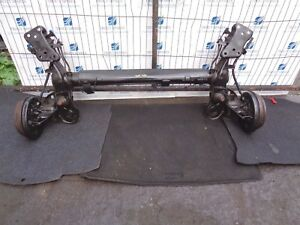 06-11 PEUGEOT 207 1.4 5DR REAR COMPLETE AXLE DRUMS WITH ABS 4 STUD PETROL