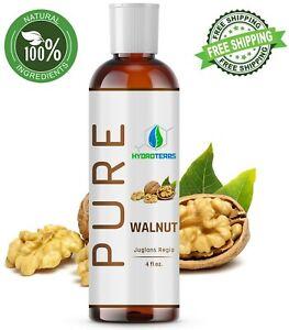 Walnut Oil 4 oz. Cold Pressed REFINED 100% Pure Natural