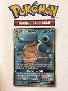 Blastoise GX SM189 Ultra Rare - Black Star Promo Pokemon Card