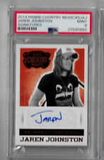 2014 Panini Country Music Jaren Johnston Signatures PSA 9