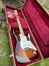 More details for fender player stratocaster electric guitar, maple fingerboard 3 colour sunburst