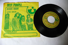 "DEEP PURPLE""BLACK NIGHT-Disco 45 giri HARVEST 1970"" 5C-006-91.611"