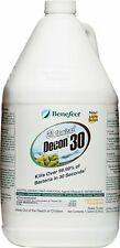 Benefect Decon 30 - Kills over 99.99% of bacteria in 30 Seconds! *1 Case/4 Gal*
