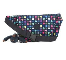 Kipling Arvin Belt Bag Fanny Pack Polka Dots Multicolored Waist pack Purse NWT
