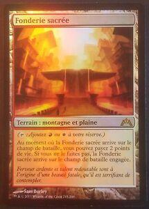 Fonderie Sacrée PREMIUM / FOIL VF - French Gatecrash Sacred Foundry - Magic mtg