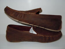 UGG Mens Henrick BROWN LEATHER  Loafers Size 11.5 M