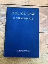 More details for police law - c.c.h. moriarty .second edition 1931