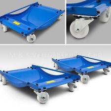 BITUXX 2 Stück Rangierhilfe für PKW Auto Rangierroller Rangierheber Roller