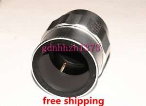 High-quality M52 to M42 Adjustable Focusing Helicoid adapter 35mm~85mm silvery
