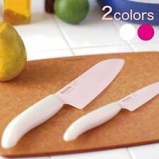 Kyocera Ceramic Kitchen Knife SAKURA BLADE Pink 2 Set AT1212