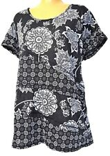 TS top TAKING SHAPE VIRTU plus sz M (18 - 20) Mixed Garden Tee light t-shirt NWT