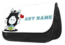 Personalised Undertale TEMMIE pencil case..make up case, back to school gift.