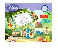 DISNEY WINNIE THE POOH & TIGER DESK ON THE GO LAPTOP DESK WITH CARRY BAG SET