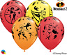 Incredibles 2 Latex Party Balloons  Bright Colour Party Balloons Non Message