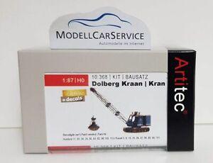 Artitec 1/87 (H0): 10.367 Krupp-Dolberg Gittermast-Bagger - Resin Model Kit