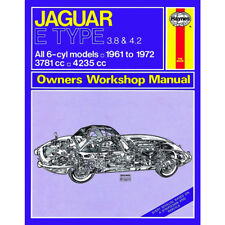 Jaguar E Type Haynes Manual 1961-72  3.8 4.2 Petrol Workshop