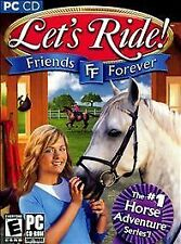 Let's Ride Friends Forever (PC, 2007) *New,Sealed*