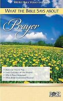 What the Bible Says about Prayer (Pamphlet)