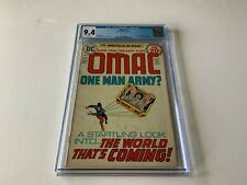 OMAC 1 CGC 9.4 WHITE PAGES JACK KIRBY ORIGIN 1ST APPEARANCE DC COMICS 1974