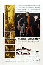 Spirit Of St. Louis Movie Poster 24inx36in (61cm x 91cm)